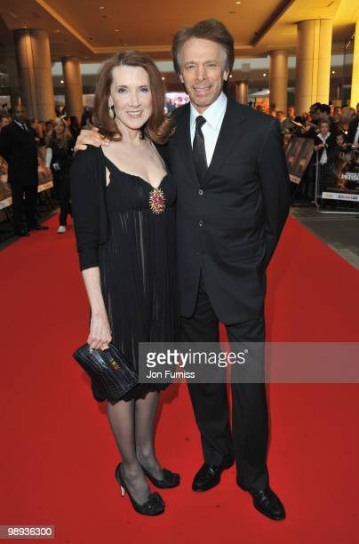 Producer Jerry Bruckheimer with his wife Linda attend the 'Prince Of Persia: The Sands Of Time' world premiere at the Vue Westfield on May 9, 2010 in...
