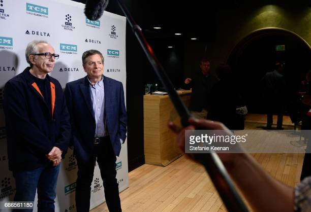 Producer Jerry Zucker and director David Zucker attend the screening of 'The Kentucky Fried Movie' during the 2017 TCM Classic Film Festival on April...