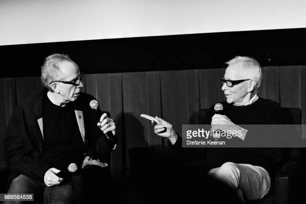 Producer Jerry Zucker and director Jim Abrahams speak onstage during the screening of 'The Kentucky Fried Movie' during the 2017 TCM Classic Film...
