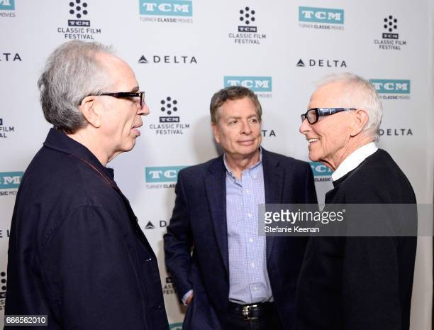 Producer Jerry Zucker and directors David Zucker and Jim Abrahams attend the screening of 'The Kentucky Fried Movie' during the 2017 TCM Classic Film...