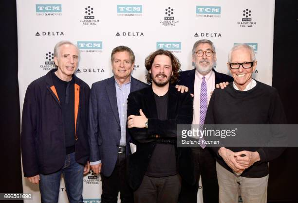 Producer Jerry Zucker directors David Zucker Edgar Wright John Landis and Jim Abrahams attend the screening of 'The Kentucky Fried Movie' during the...