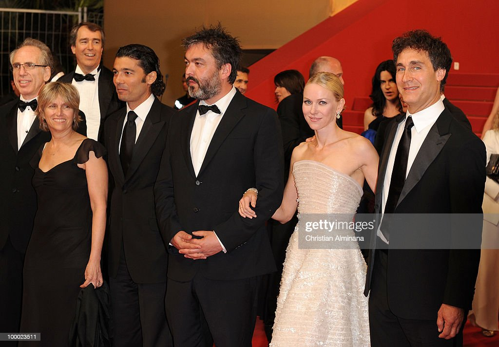 Producer Jerry Zucker, guest, Actor Khaled Nabawy, Writer Jez Butterworth, Actress Naomi Watts and Director Doug Liman attend the 'Fair Game' Premiere held at the Palais des Festivals during the 63rd Annual International Cannes Film Festival on May 20, 2010 in Cannes, France.