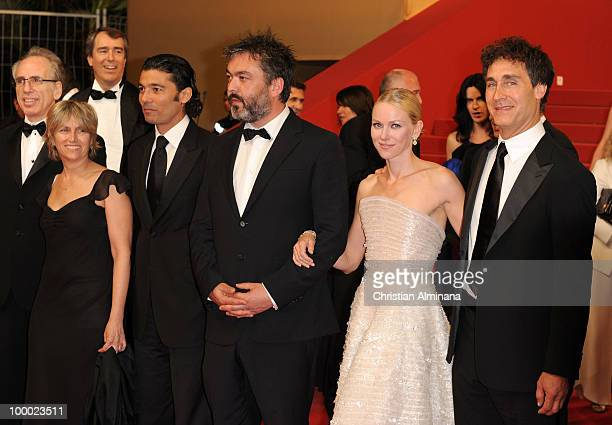 Producer Jerry Zucker guest Actor Khaled Nabawy Writer Jez Butterworth Actress Naomi Watts and Director Doug Liman attend the 'Fair Game' Premiere...