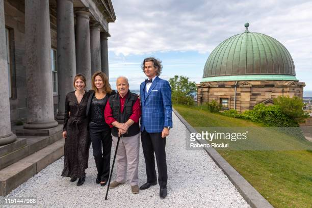 Producer Jessica Adams Shelagh McLeod Richard Dreyfuss and producer Sean Buckley attends a photocall for the World Premiere of 'Astronaut' during the...