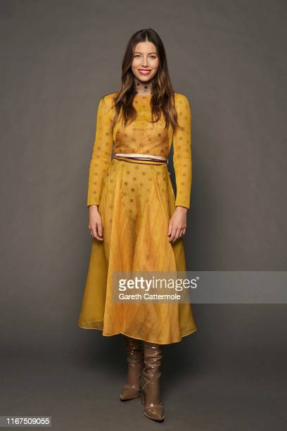 Producer Jessica Biel from the series Limetown poses for a portrait during the 2019 Toronto International Film Festival at Intercontinental Hotel on...