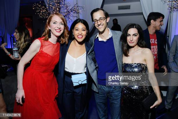 Producer Jessie Henderson Gina Rodriguez Director Content AcquisitionNetflix Matthew Levin and Writer and Director Jennifer Kaytin Robinson attend...