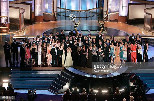 Producer Jill Farren Phelps accepts the Outstanding Drama Series award for General Hospital onstage during the 33rd Annual Daytime Emmy Awards held...