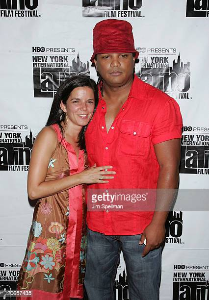 Producer Jill Footlick and Director Franc Reyes attend the premiere of The Ministers during the 9th annual New York International Latino Film...