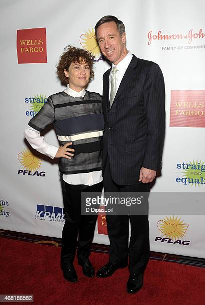 Producer Jill Soloway and President and CEO of Marriott International Arne Sorenson attend the 7th Annual PFLAG National Straight For Equality Awards...