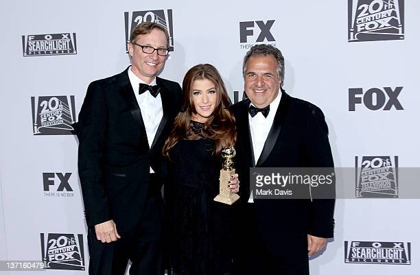 Producer Jim Burke and Fox Filmed Entertainment cochairmanCEO Jim Gianopulos arrive at NBC Universal's 69th Annual Golden Globe Awards After Party at...