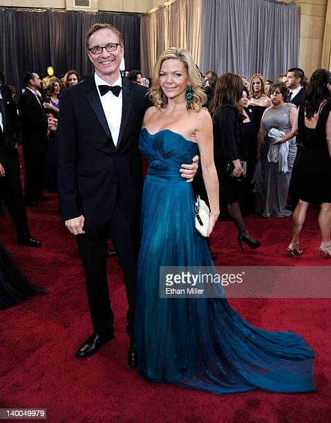 Producer Jim Burke and guest arrives at the 84th Annual Academy Awards held at the Hollywood Highland Center on February 26 2012 in Hollywood...