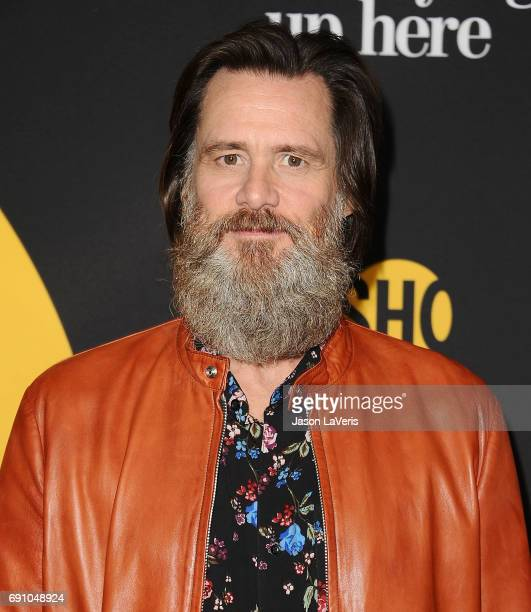 Producer Jim Carrey attends the premiere of 'I'm Dying Up Here' at DGA Theater on May 31 2017 in Los Angeles California