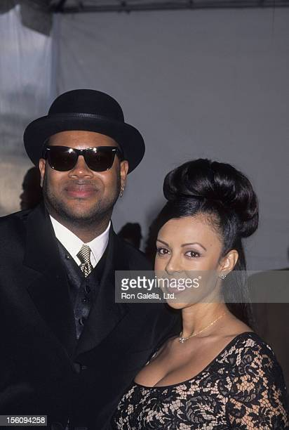 Producer Jimmy Jam and wife Lisa Padilla attend 10th Annual Soul Train Music Awards on March 29 1996 at the Shrine Auditorium in Los Angeles...