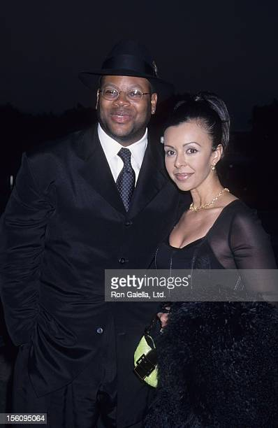 Producer Jimmy Jam and wife Lisa Padilla attend 11th Annual Commitment to Life Gala on May 27 1999 at the Universal Ampitheater in Universal City...