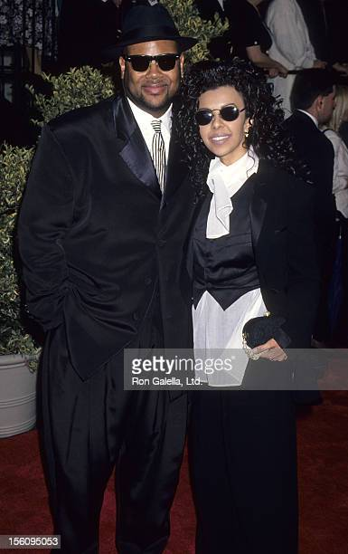 Producer Jimmy Jam and wife Lisa Padilla attend 20th Annual People's Choice Awards on March 8 1994 at Sony Studios in Culver City California