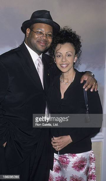 Producer Jimmy Jam and wife Lisa Padilla attend NARAS Los Angeles Chapter Governors Awards on June 15 2000 at the Beverly Hills Hotel in Beverly...