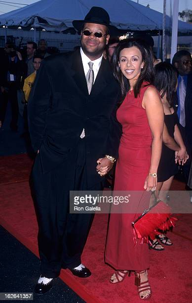 Producer Jimmy Jam and wife Lisa Padilla attends 12th Annual Soul Train Music Awards on February 27, 1998 at the Shrine Auditorium in Los Angeles,...
