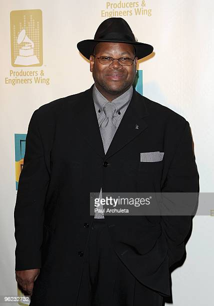 "Producer Jimmy Jam arrives at The Recording Academy's 3rd Annual ""Catch A Fire"" Honoring Chris Blackwell at The Village Recording Studios on January..."