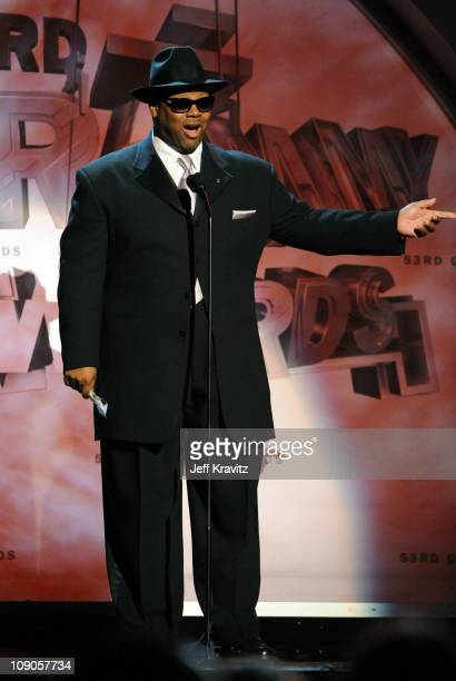 Producer Jimmy Jam speaks onstage during The 53rd Annual GRAMMY Awards held at Staples Center on February 13, 2011 in Los Angeles, California.