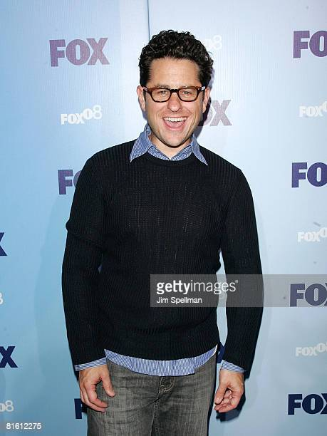 Producer JJ Abrams arrives at the 2008 FOX UpFront at Wollman Rink in Central Park on May 15 2008 in New York City