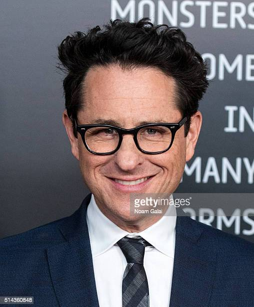 Producer JJ Abrams attends '10 Cloverfield Lane' New York premiere at AMC Loews Lincoln Square 13 theater on March 8 2016 in New York City
