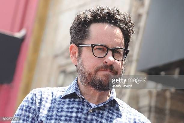 Producer JJ Abrams attends Keri Russell's induction into the Hollywood Walk of Fame on May 30 2017 in Hollywood California
