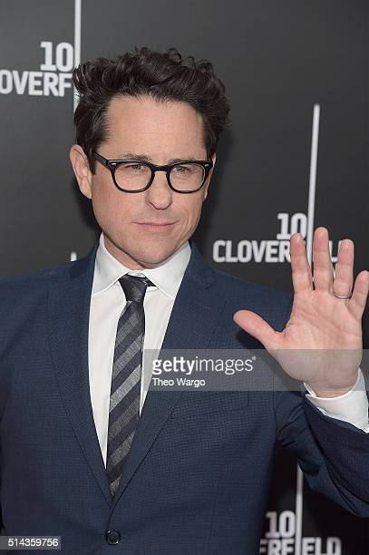 Producer JJ Abrams attends the 10 Cloverfield Lane New York premiere at AMC Loews Lincoln Square 13 theater on March 8 2016 in New York City