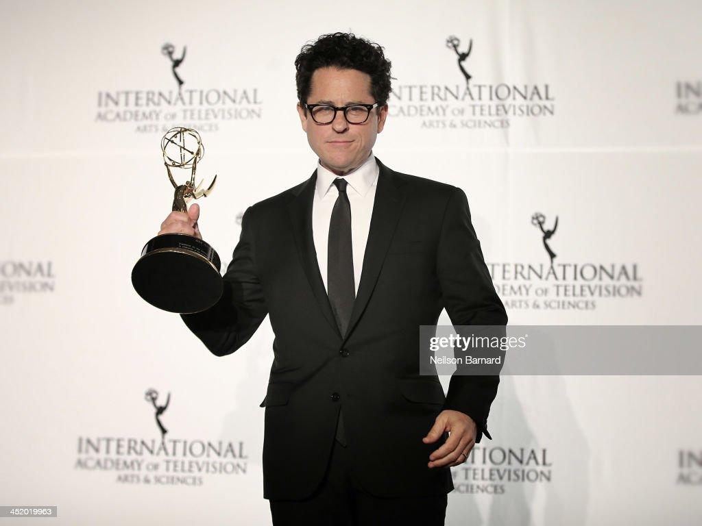 Producer J.J. Abrams attends the 41st International Emmy Awards at the Hilton New York on November 25, 2013 in New York City.