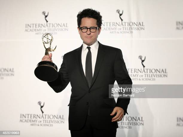 Producer JJ Abrams attends the 41st International Emmy Awards at the Hilton New York on November 25 2013 in New York City