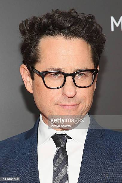 Producer JJ Abrams attends the New York premiere of 10 Cloverfield Lane at AMC Loews Lincoln Square 13 theater on March 8 2016 in New York City