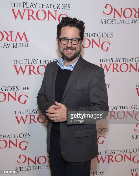 Producer JJ Abrams attends 'The Play That Goes Wrong' Broadway Opening Night After Party at Gustavino's on April 2 2017 in New York City