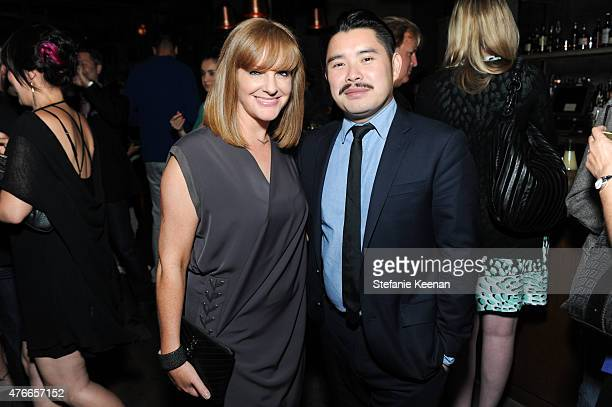 Producer JL Pomeroy and director Bao Nguyen attend Live From New York Los Angeles Premiere After Party at Hinoki The Bird on June 10 2015 in Los...