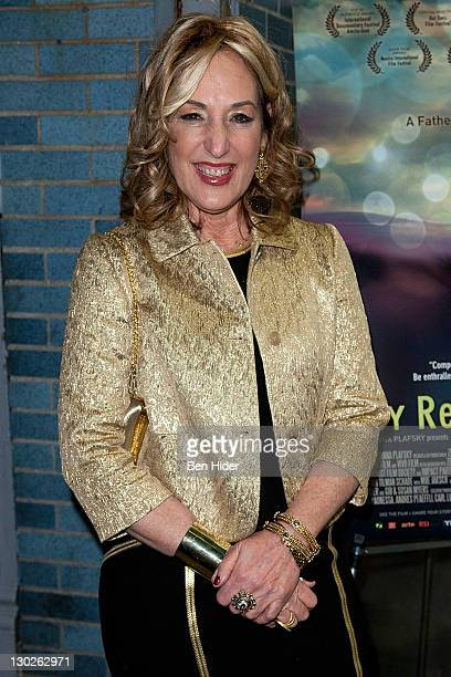 Producer Joanna Plafsky attends the My Reincarnation New York premiere at Cinema Village on October 25 2011 in New York City