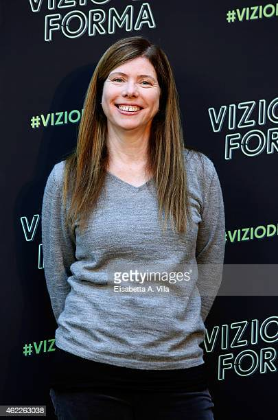 Producer JoAnne Sellar attend 'Vizio Di Forma Inherent Vice' photocall at Hotel De Russie on January 26 2015 in Rome Italy