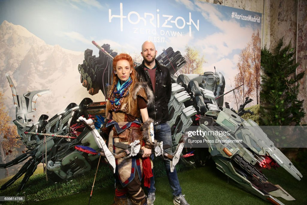 Producer Jochen Willemsen And Cosplayer Dressed As Character