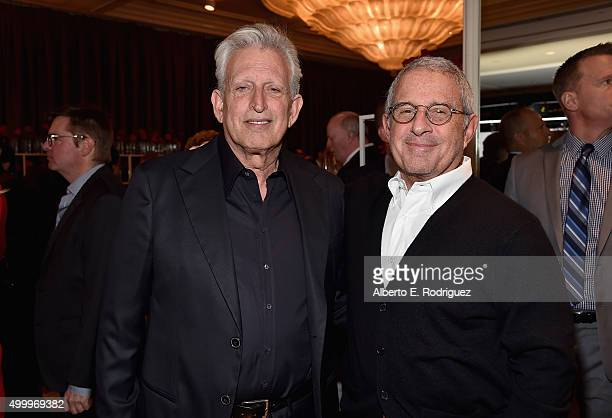 Producer Joe Roth and Vice Chairman of NBCUniversal Ron Meyer attend the March Of Dimes Celebration Of Babies Luncheon honoring Jessica Alba at the...