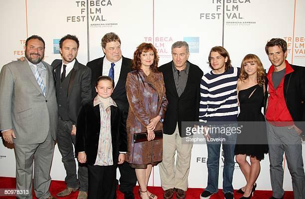 Producer Joel Silver, actors Kick Gurry, John Goodman, Paulie Litt, Susan Sarandon, Robert De Niro, Emile Hirsch, Christina Ricci and Christian...