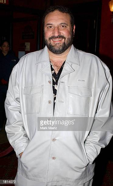 Producer Joel Silver attends the Warner Brothers premiere of Cradle 2 the Grave at the Ziegfeld Theater on February 24 2003 in New York City