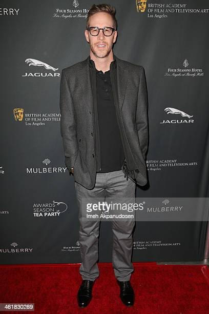 Producer Joey McFarland attends the BAFTA LA 2014 Awards Season Tea Party at the Four Seasons Hotel Los Angeles at Beverly Hills on January 11 2014...