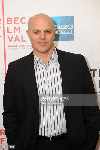 Producer Joey Rappa attends the premiere of Get Low during the 2010 Tribeca Film Festival at the Tribeca Performing Arts Center on April 27 2010 in...