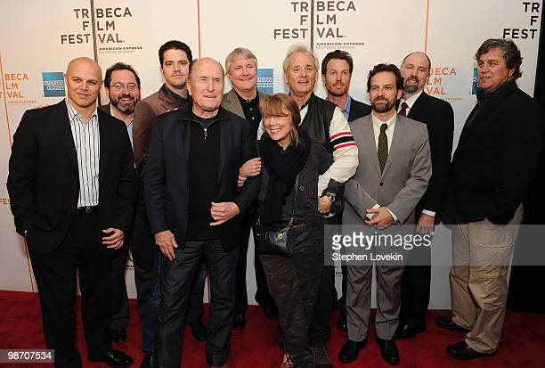 Producer Joey Rappa Sony Pictures Classics CoPresident Michael Barker director Aaron Schneider actor Robert Duvall producer David Gundlach actress...