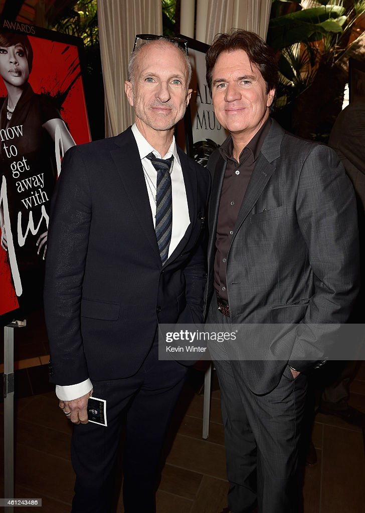 Producer John Deluca and director Rob Marshall (R) attend the 15th Annual AFI Awards at Four Seasons Hotel Los Angeles at Beverly Hills on January 9, 2015 in Beverly Hills, California.