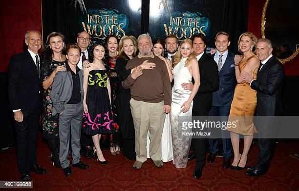 Producer John DeLuca Tracey Ullman Daniel Huttlestone producer James Lapine Lilla Crawford Emily Blunt Meryl Streep Stephen Sondheim Anna Kendrick...