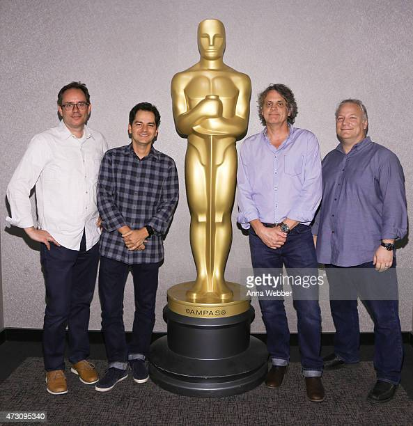 "Producer John Donkin, Director Carlos Saldanha, Director Chris Wedge and Art Director Tom Cardone attend The Academy Presents ""An Animation Showcase:..."