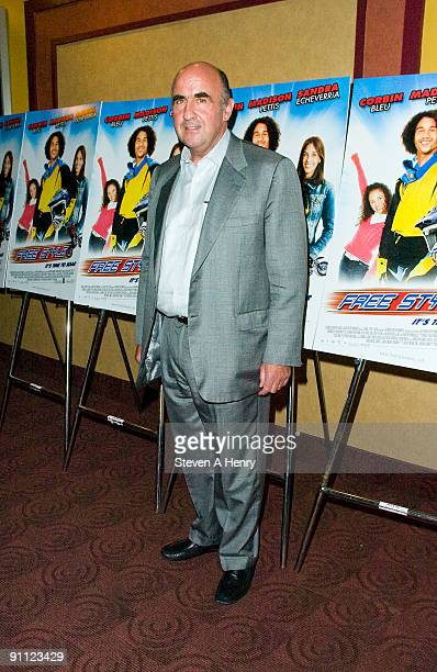 Producer John Laing attends the Free Style premiere at the Chelsea Clearview Cinema 9 on September 24 2009 in New York City