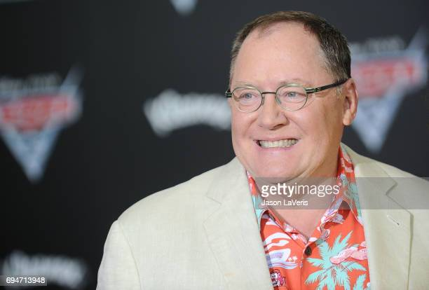 Producer John Lasseter attends the premiere of 'Cars 3' at Anaheim Convention Center on June 10 2017 in Anaheim California