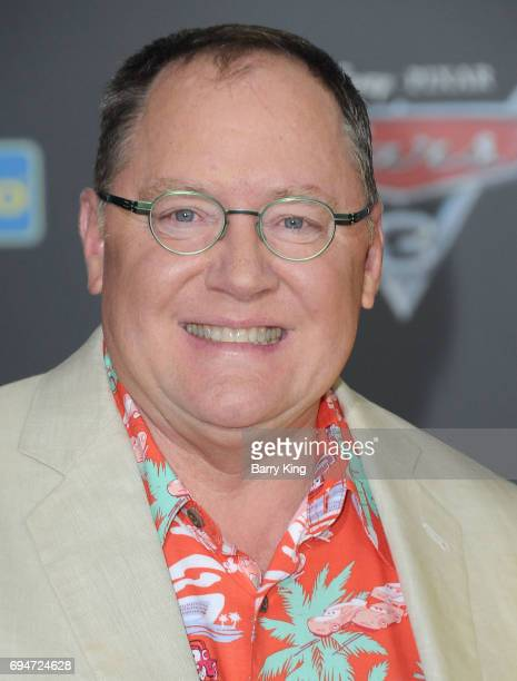 Producer John Lasseter attends the World Premiere of Disney and Pixar's 'Cars 3' at Anaheim Convention Center on June 10 2017 in Anaheim California