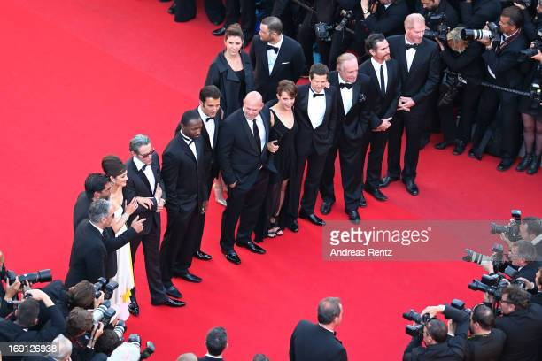 Producer John Lesher and Alain Attal actors Marion Cotillard Mark Mahoney Jamie Hector Clive Owen Domenick Lombardozzi Lili Taylor Guillaume Canet...