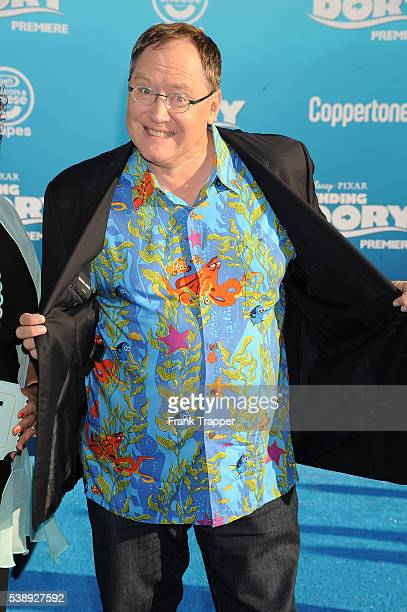 Producer John Lesseter attends the premiere of Disney's 'Finding Dory' held at the El Capitan Theater on June 8 2016 in Hollywood California