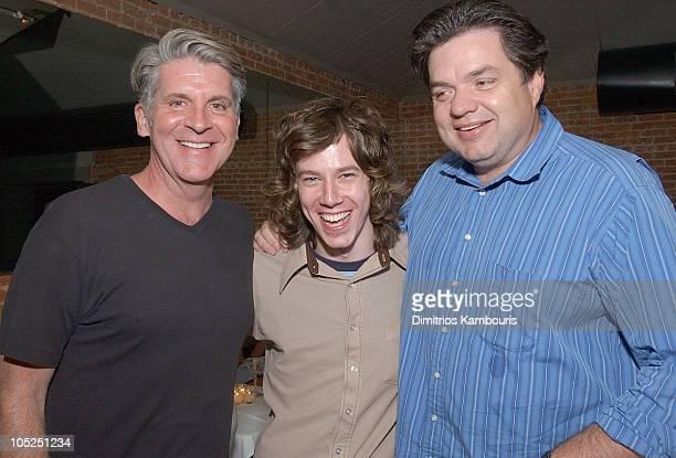Producer John Lyons John Gallagher Jr and Oliver Platt